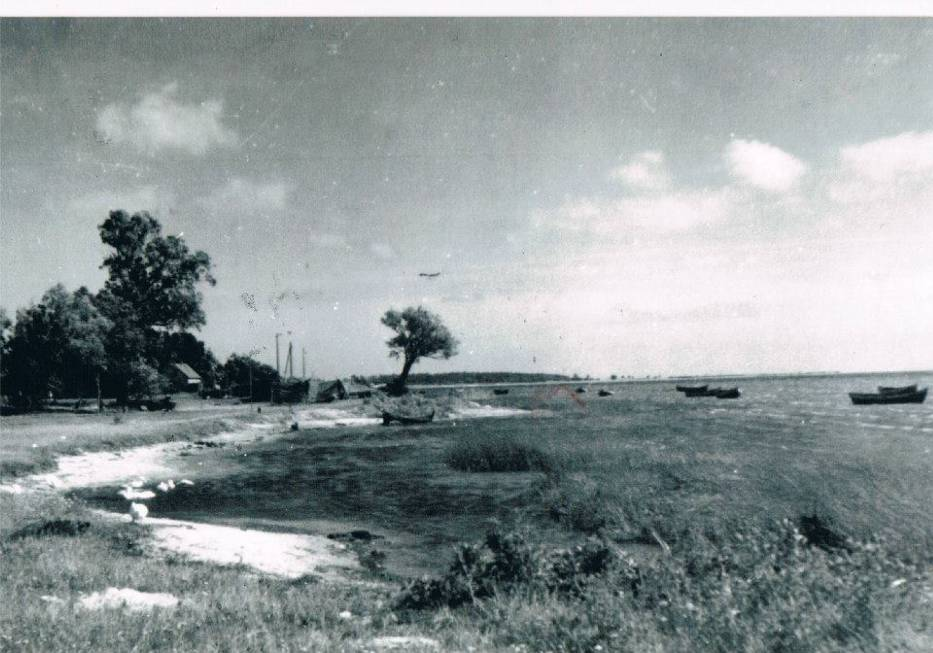 półwysep helski na starej fotografii