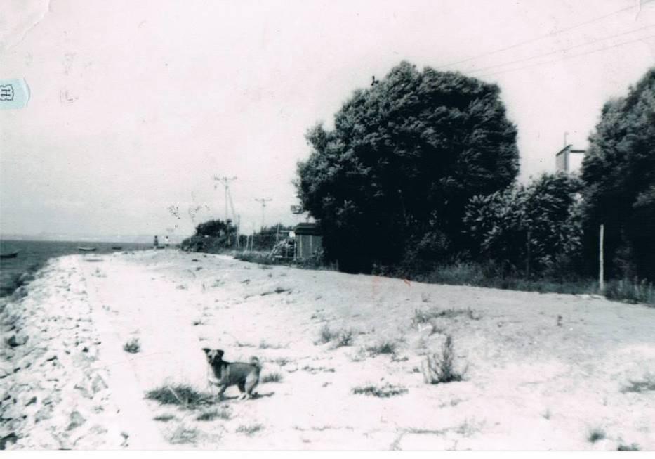 zima półwysep helski dawniej