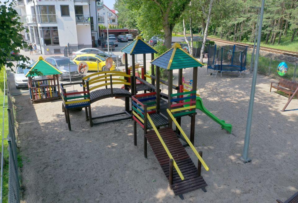 strefa dla dzieci-plac zabaw-hotel77
