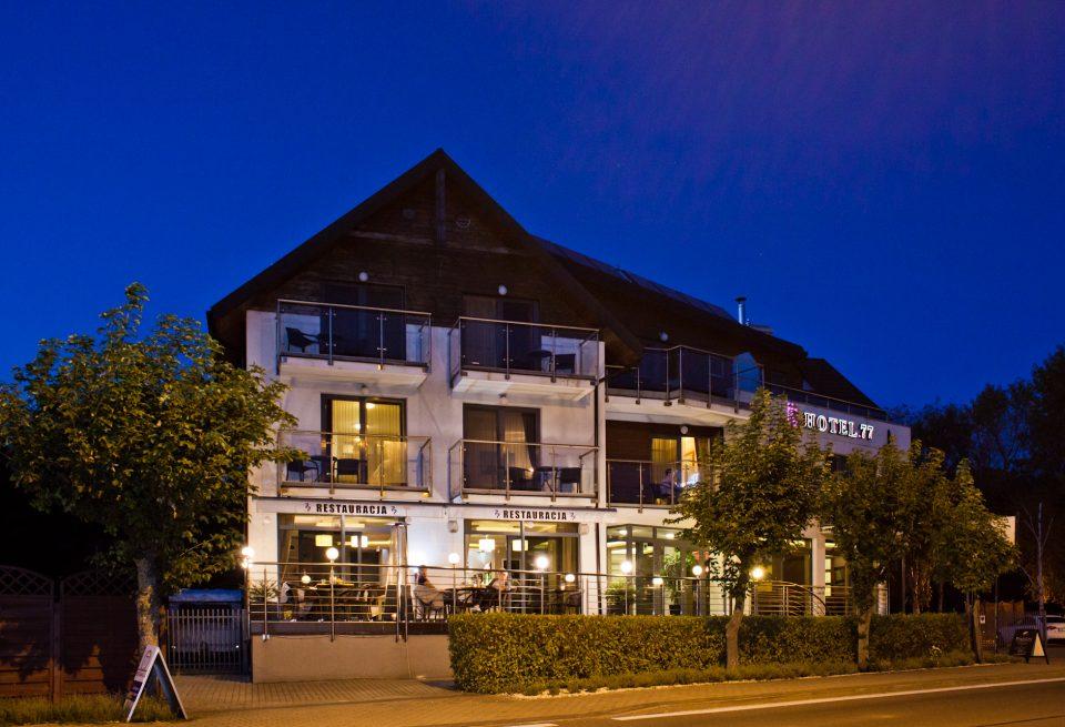 restauracja hotel77