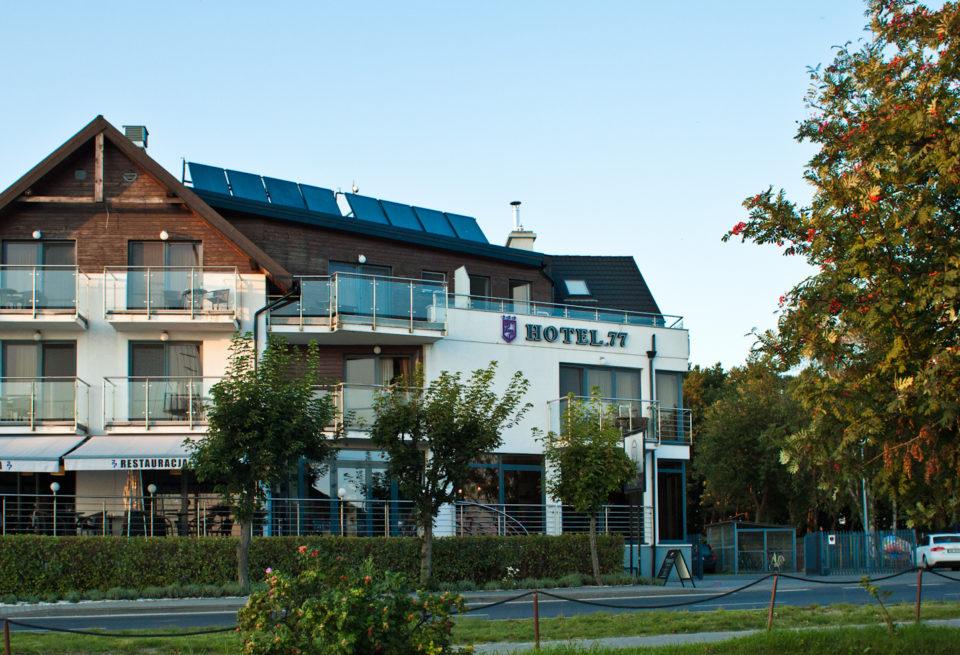 hotel77 widok od frontu