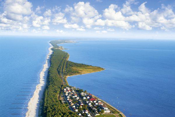 panorama półwysep helski